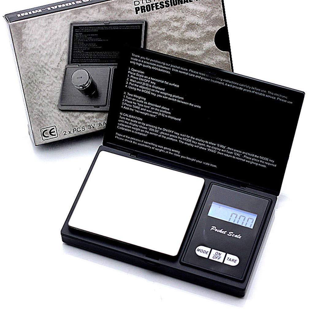 Bilance Digitali Bilancia Elettronica Digitale ad Alta precisione Bilancia Elettronica da 0,01 g Palm Mini LF Stores