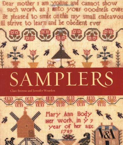 Samplers from the V&A Museum (Costumes London Exhibition)