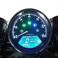 dlll universal MPH/KMH LCD Digital 124MPH/199kmh 12000RPM Tacómetro Velocímetro Odómetro para 4tiempos 1/2/4cilindros para motocicleta sctoor Carros de golf ATV