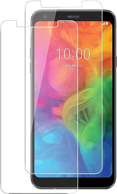 Protector de Pantalla LG Q7 de Cristal Templado para LG Q7 Plus ...