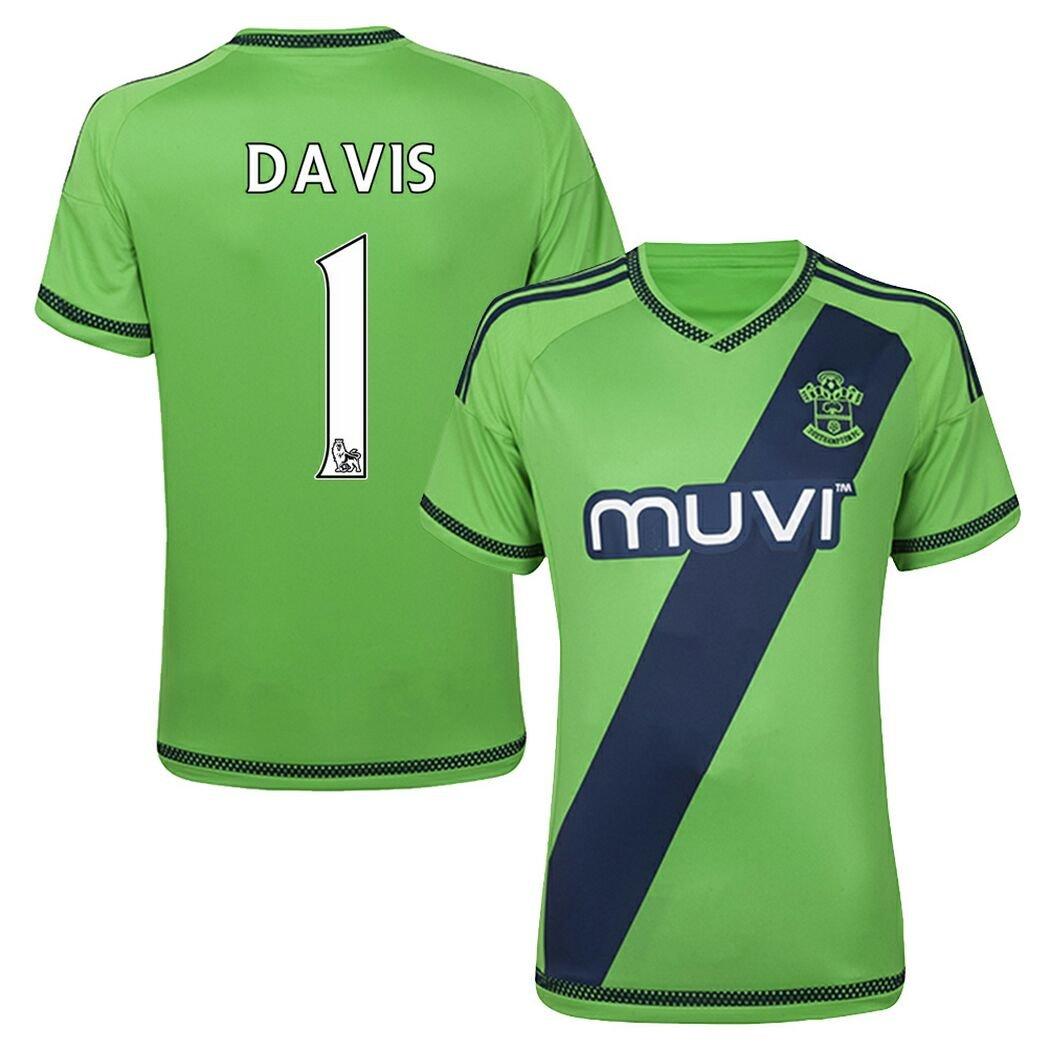 size 40 4eb18 8145f FC Football Jersey Southampton #1 DAVIS Away Soccer Jersey ...