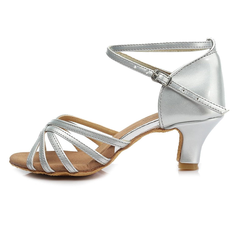 NEXT Marrone Pelle Scarpe con tacco medio con i lati aperti e dita dei piedi a punta misura 5