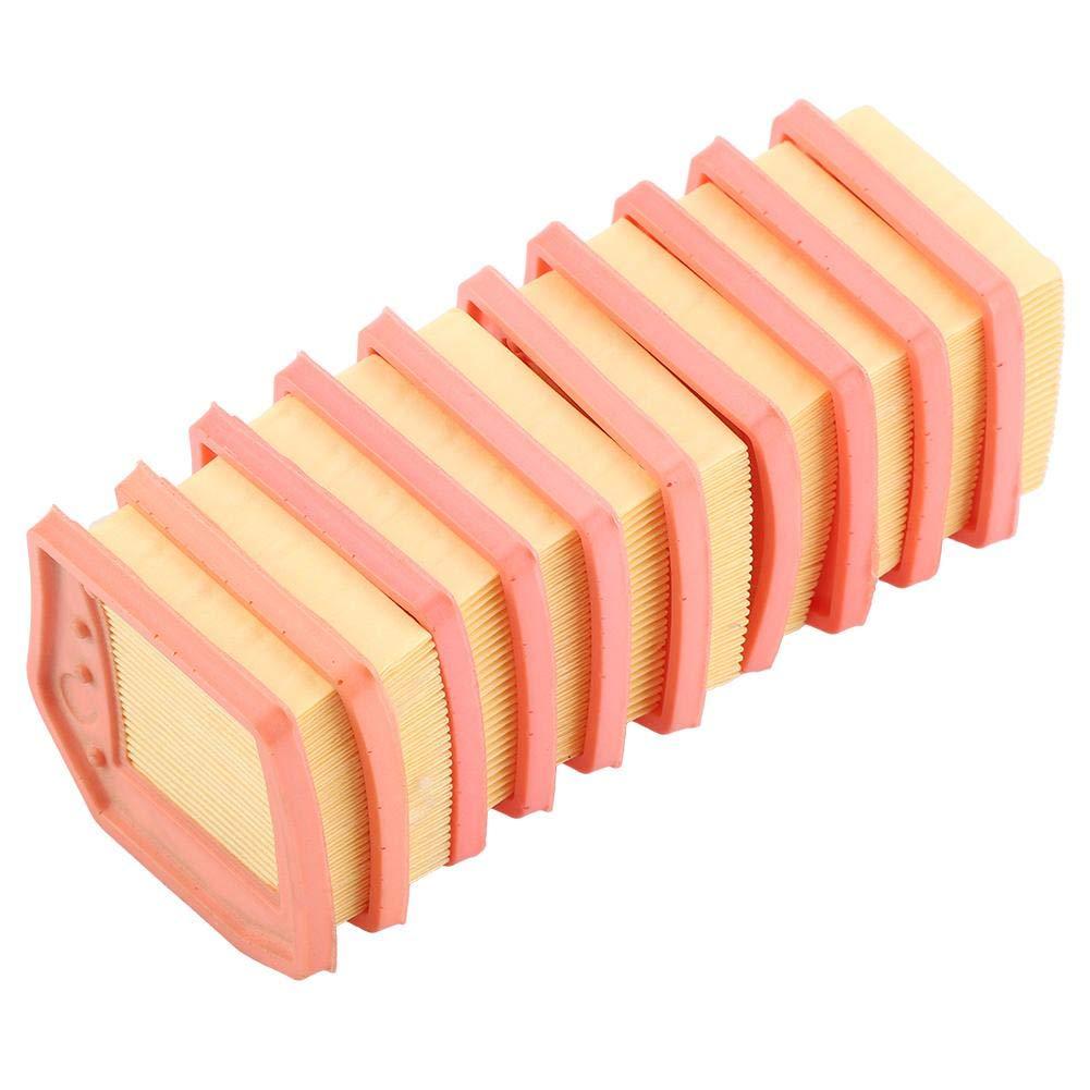 10Pcs Lawn Mower Air Filter Cartridge Falciatrice Accessori Lawn Mower Parti di Ricambio Attrezzo da Giardino per Stihl FS410 FS460 FS240 FS260 FS360 Trimmer Garosa