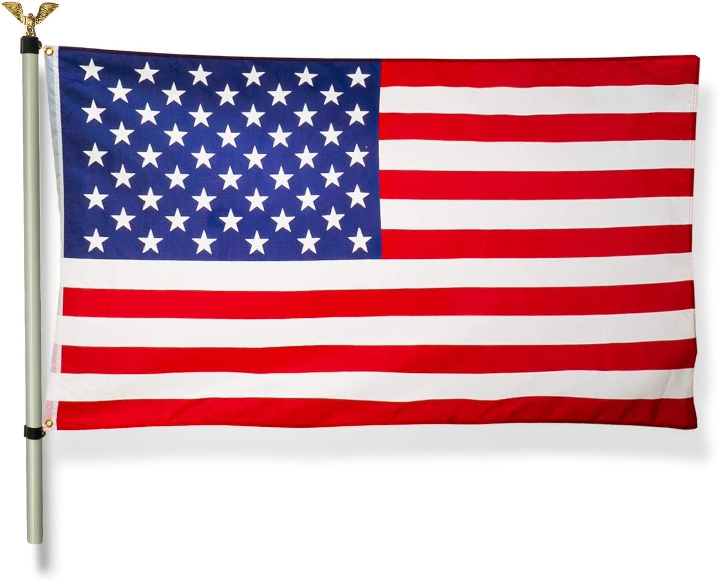 Home Zone Living 12ft 3x5 American Flag