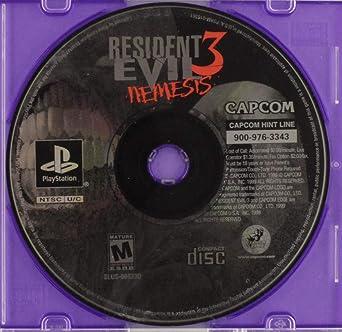 Amazon com: Resident Evil 3: Nemesis: Unknown: Video Games