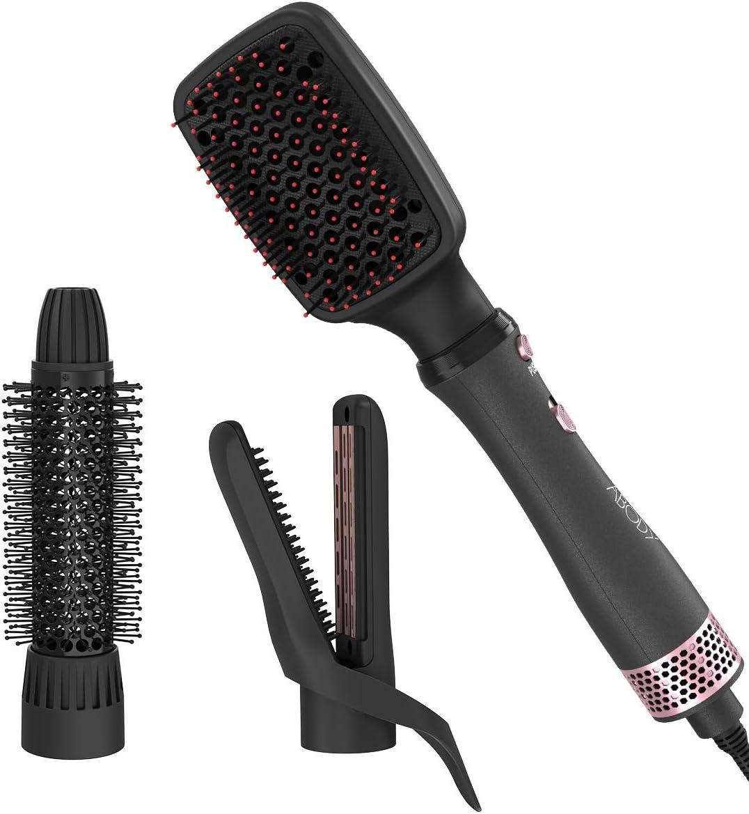 BROSSE FER À Lisser Séchoir à Friser Moulure Cheveux Volume