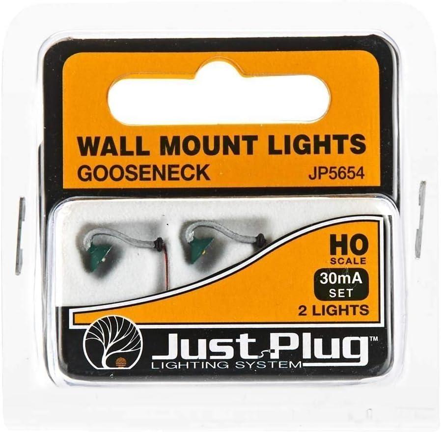 Woodland Scenics WJP5677 H0 Straßenlampe Beton LED warmweiß 3x