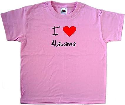 I Love Heart Alabama T-Shirt