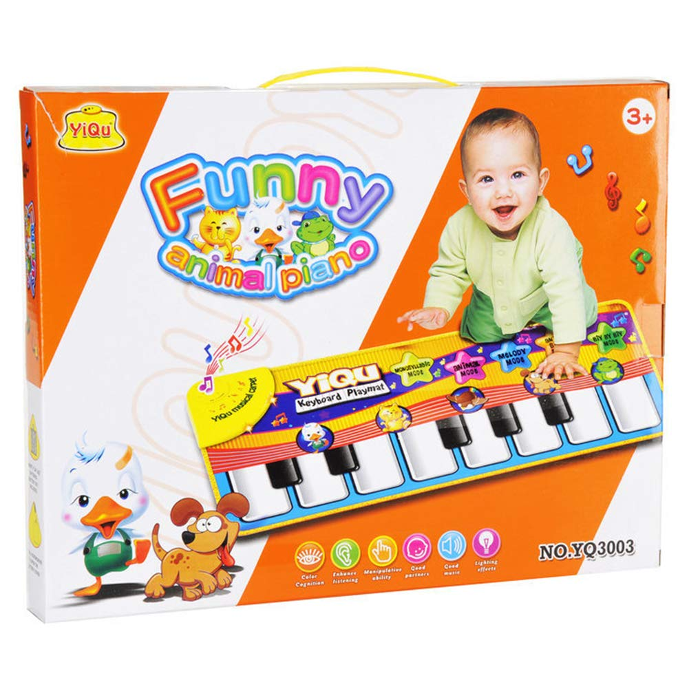 Aoile Kids Baby Musical Piano Play Mat Development Educational Soft Toys Piano Blanket by Aoile (Image #3)
