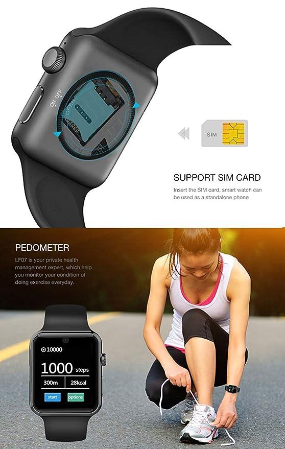 HX0945 Mejor DM09 Bluetooth Inteligente Reloj LF07 para La ...