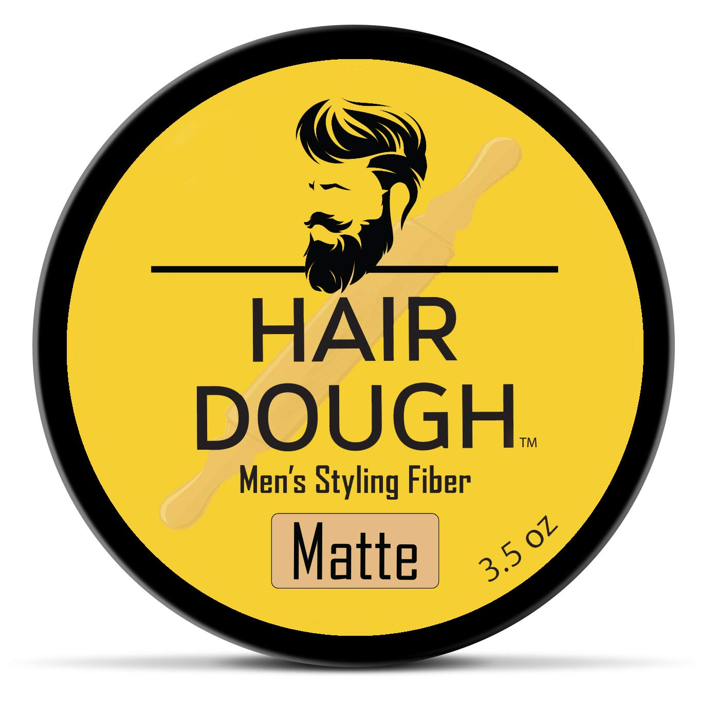 Hair Dough Styling Clay For Men - Matte Finish Molding Hair Wax Paste - Strong Hold Without The Shine by Hair Dough
