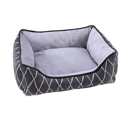 Dog bed Cama para Perros Casa para Gatos Lavable para el Otoño y el Invierno Sala