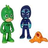 Simba 109402149 - PJ Masks Figuren Set Gecko und Ninja