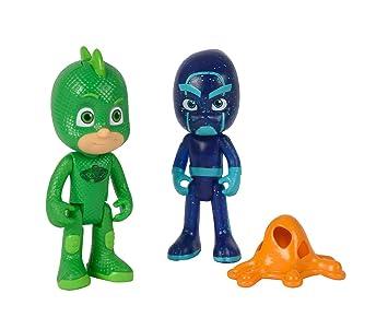 Simba 109402149 – PJ figuras de máscaras de Gecko y Ninja