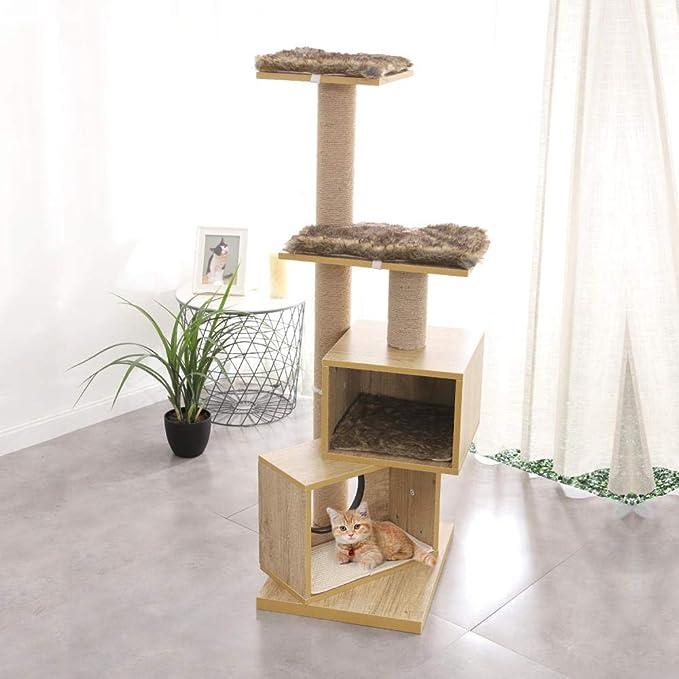 Gulunmun Árbol Rascador para Gatos Gato sólido sScratching Post ...