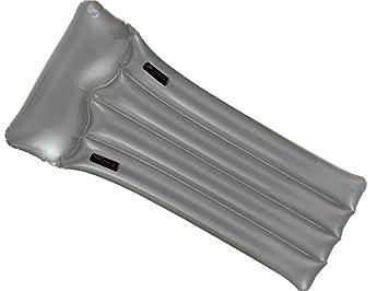 Intex 59726EU - Colchoneta hinchable, 188 x 89 cm, color gris