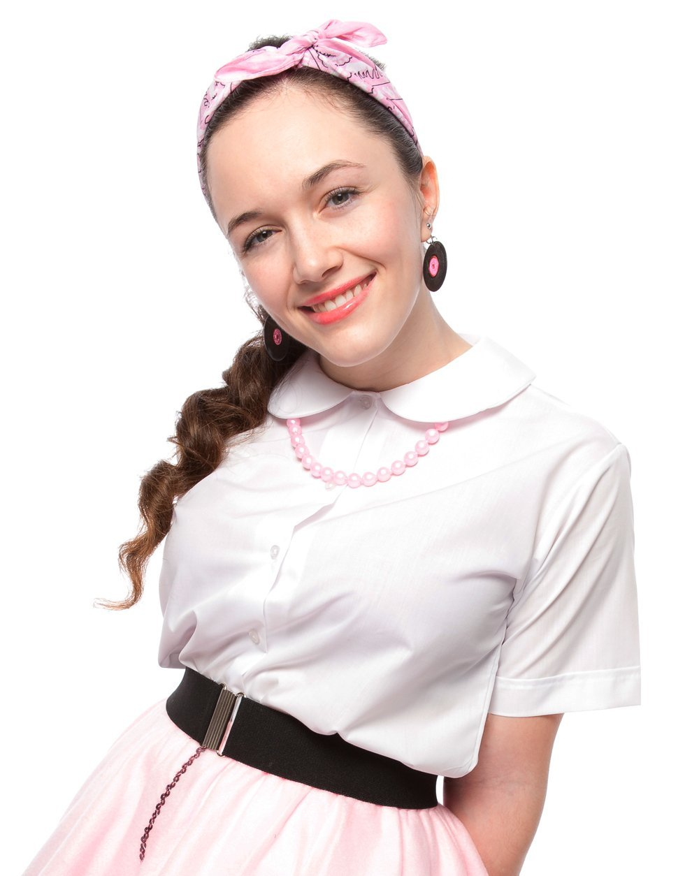 Peter Pan Blouse - Adult S (White) by Hey Viv !