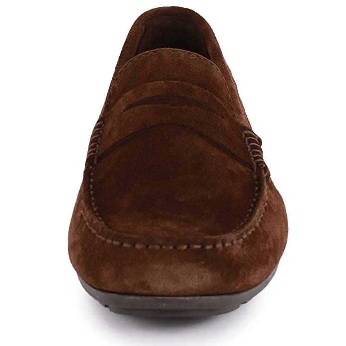 Tommy Hilfiger - Mocasines de Piel para hombre Coffee Bean: Amazon.es: Zapatos y complementos
