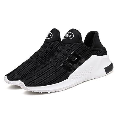 65992a5c9 TUOKING Chaussures de Course Homme Femme Legere Mode Sport Baskets Fashion  Respirantes Sneakers