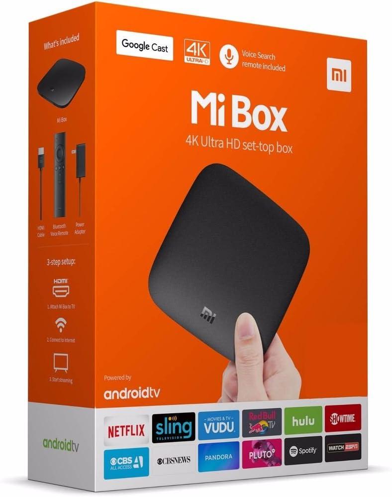 Xiaomi Mi Box Amlogic S905 X 2 GB RAM 8 GB ROM TV Caja – Version Internacional: Amazon.es: Electrónica