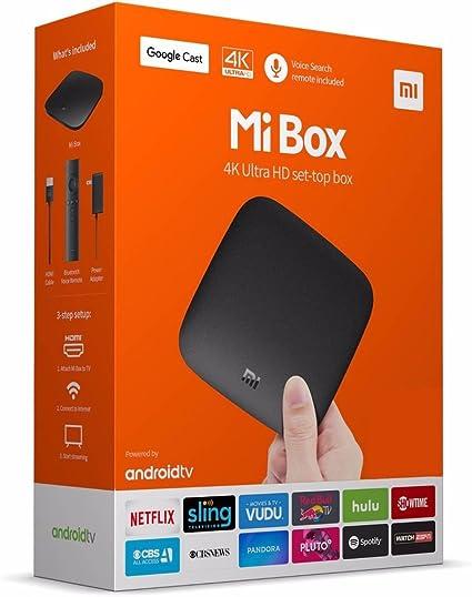 Xiaomi Mi Box Amlogic S905 X 2 GB RAM 8 GB ROM TV Caja – Version ...