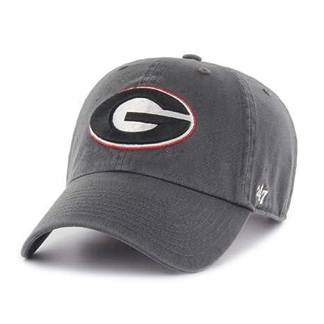 48bfa676ae8  47 NCAA Georgia Bulldogs Mens Clean Up Adjustable Hat Clean Up Adjustable  Hat
