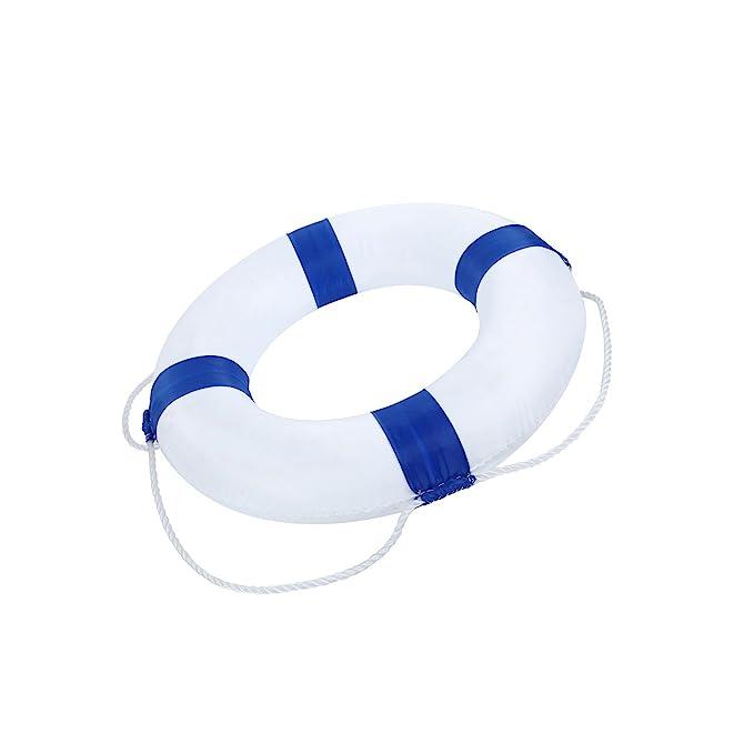 Flotador de Espuma Flotador Macizo de los Niños,Aro de Salvavidas,Salvavidas de Piscina,Mar,Lago. Azúl: Amazon.es: Deportes y aire libre