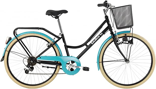 Bicicleta de ciudad de señora BH BOLERO Pro, color negro y ...