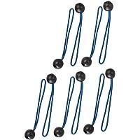 Silverline Tools 237045 - Cuerdas Para Sujetar Lonas, 10 Pzas (175 Mm), Multicolor