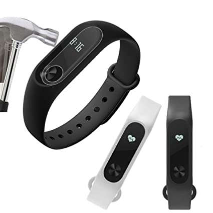 5 protectores de pantalla para reloj inteligente Xiaomi Mi Band 2, VNEIRW transparente, Full