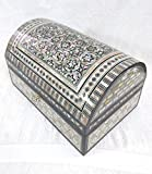 J38 Gorgeous MOP Mosaic Trinket Egyptian Large Bombe - Best Reviews Guide