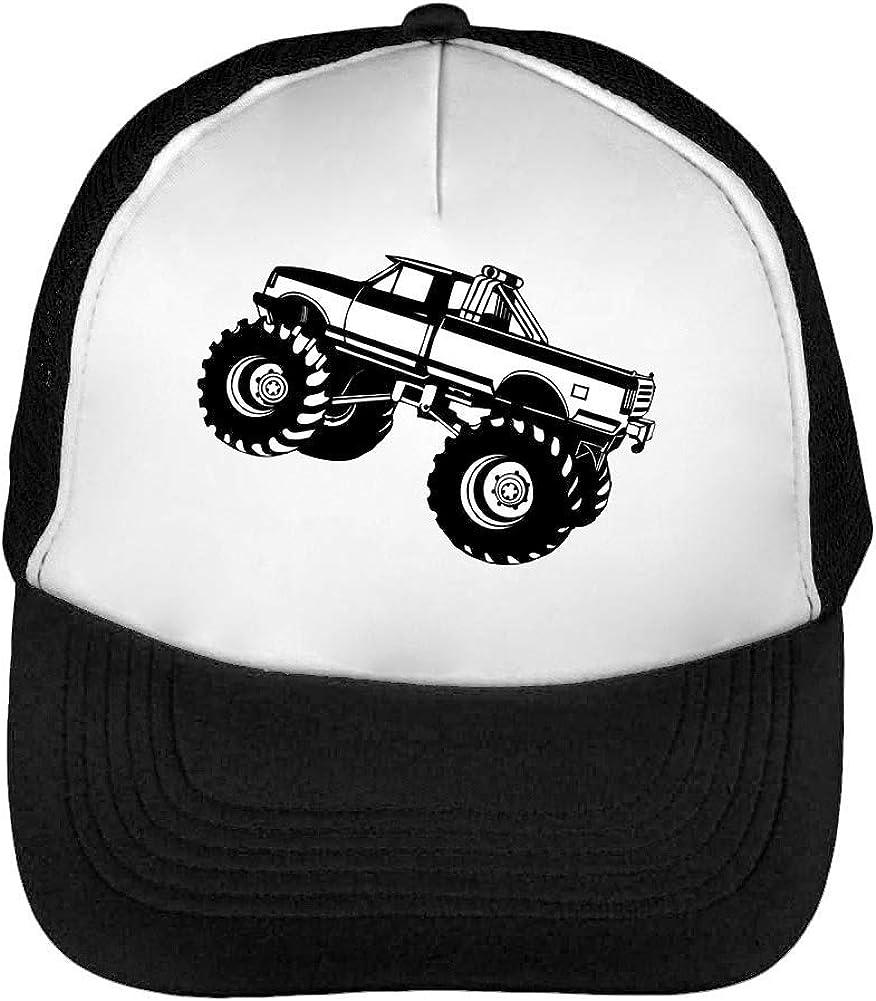 Car Monster Truck Gorras Hombre Snapback Beisbol Negro Blanco ...