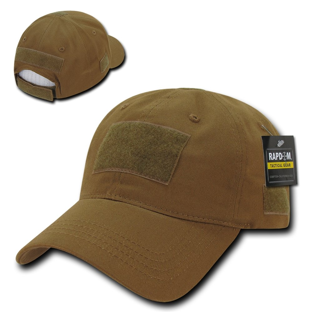 Rapid Dominance Soft Crown Tactical Operator Cotton Cap With Loop Patch - Coyote