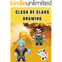 How to draw Clash of Clans - Drawing Tutorial Book