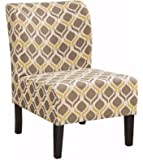 Ashley Furniture Signature Design - Honnally Accent Chair - Contemporary Style - Gunmetal