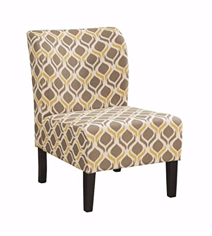 Ashley Furniture Signature Design   Honnally Accent Chair   Contemporary  Style   Gunmetal