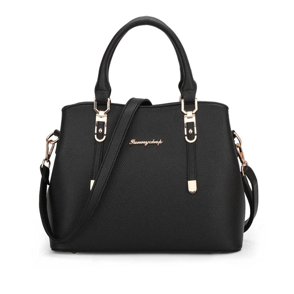 Donalworld Women Work Office OL Messenger PU Leather Handbag