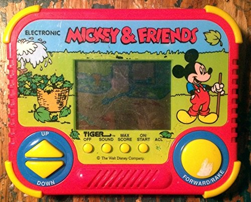 Tiger Mickey & Friends Electronic Handheld Game 1990