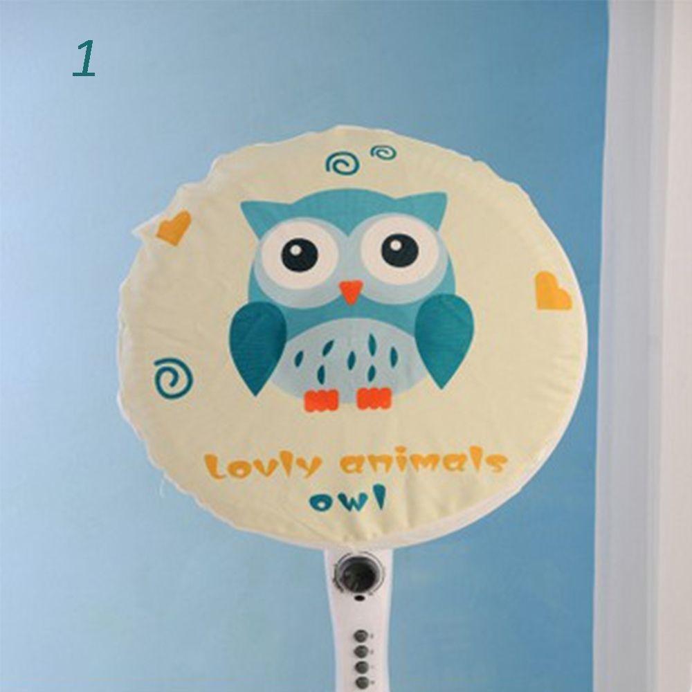 DouFole Net Animal 1 Pcs Cartoon Dust Cloth Protection Fan Dustproof Cover