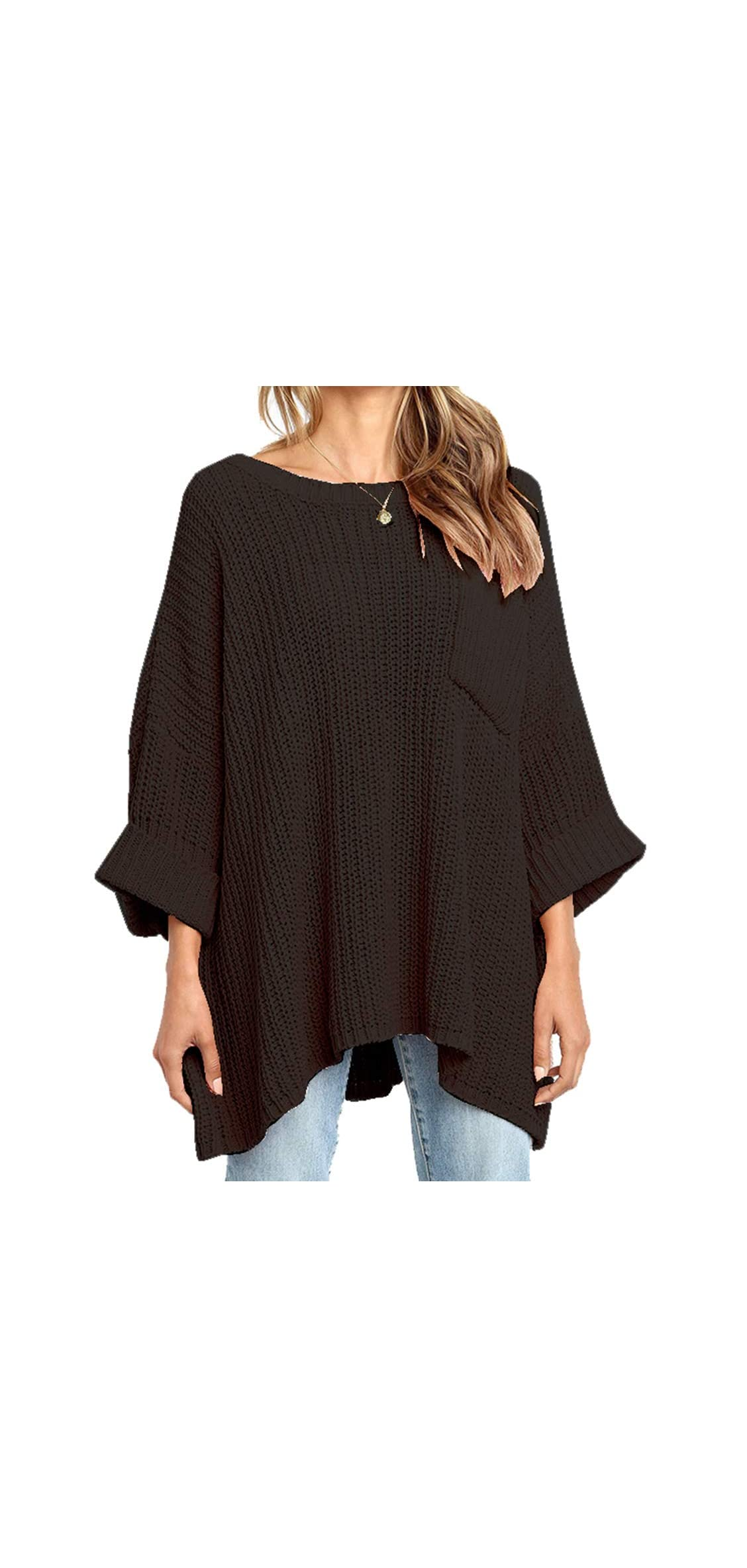 Womens Winter Long Knitted Sweater Dress Off Shoulder