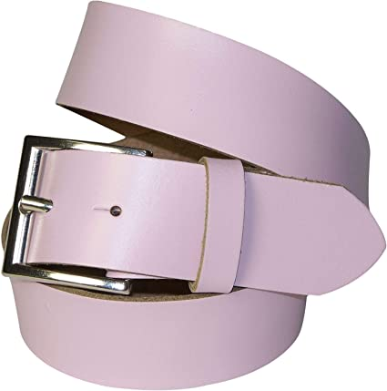 silver buckle bordeaux cognac FRONHOFER Women men leather belt cream khaki