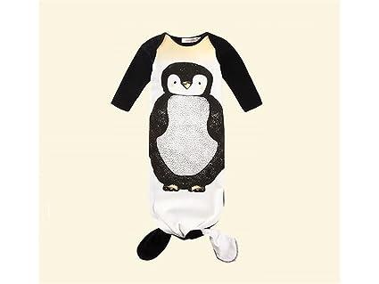 Guardería Bebé Saco de Dormir Creativo Estilo Penguin Anti-kick Edredón Sleepsacks Adecuado para 0