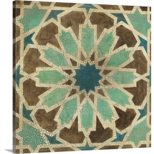 Tangier Tiles III Canvas Wall Art Print, 24