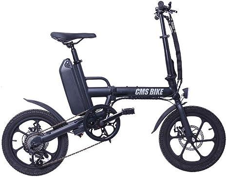 YPYJ Bicicleta Eléctrica Plegable City Bicicletas Eléctricas para ...