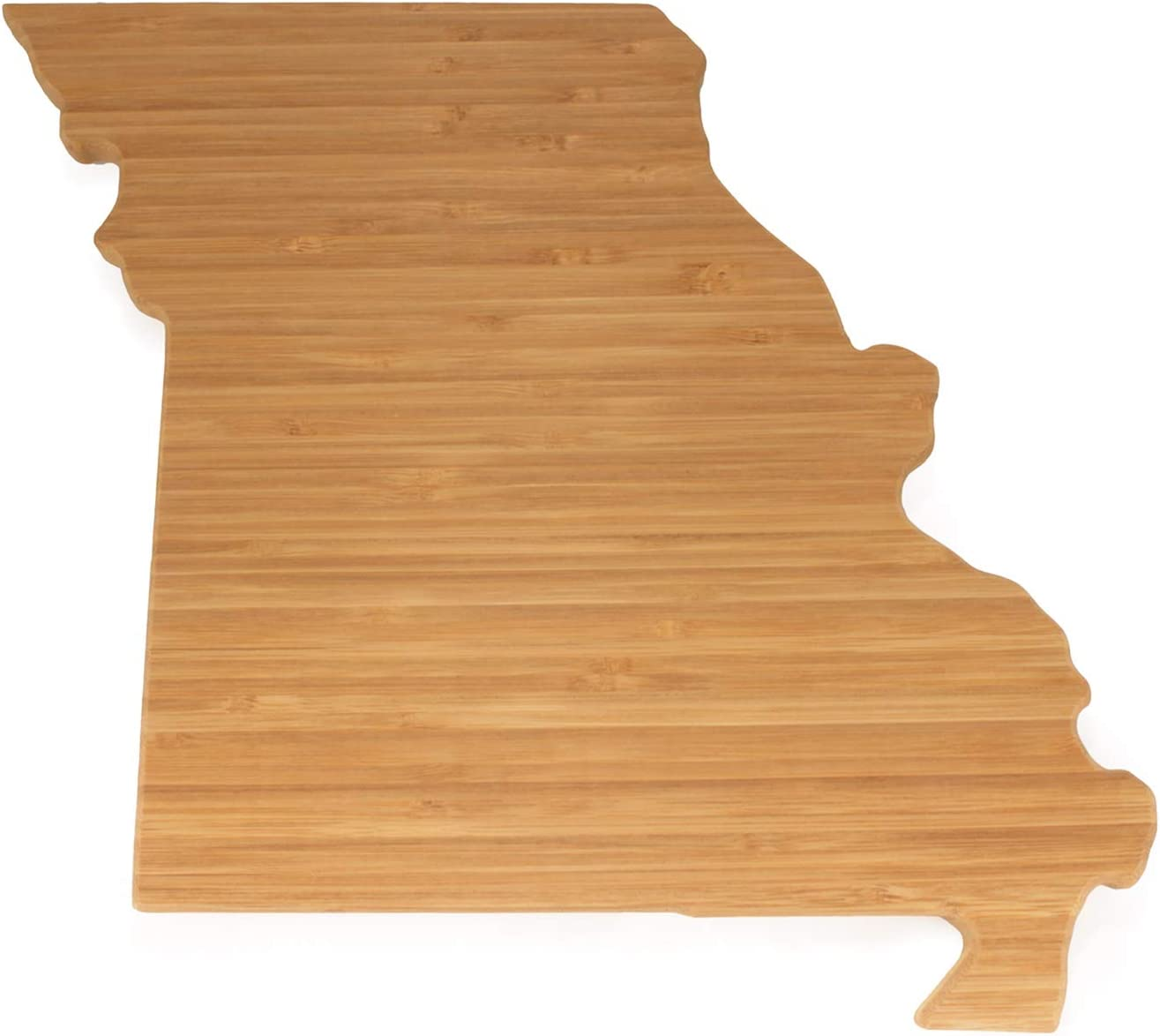 BambooMN Missouri Silhouette Bamboo Serving and Cutting Board - 1 Unit - 12