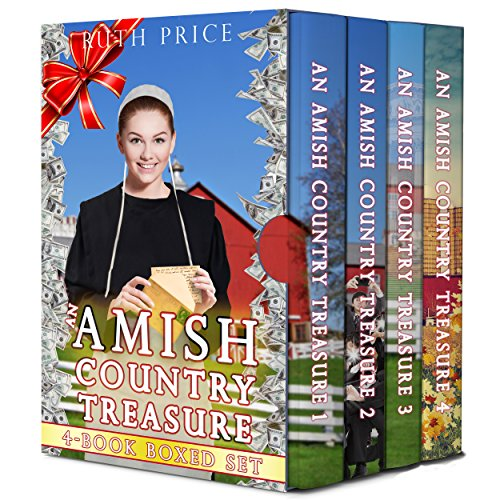 - An Amish Country Treasure 4-Book Boxed Set Bundle; A Sweet Amish Romance Series (Amish Country Treasure Series (An Amish of Lancaster County Saga) 5)