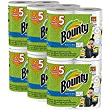 Bounty Despicable Me 3 Select-A-Size Paper Towels with Minion Prints, Huge Roll, 2 Pack (12 Count)