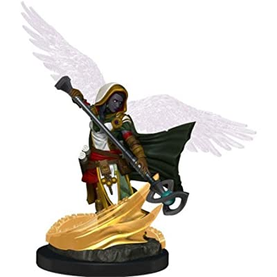 Dungeons & Dragons Icons of The Realms Premium Figures: W1 Aasimar Female Wizard: Toys & Games