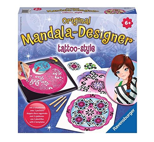 Designer Tattoo (Ravensburger 2-In-1 Mandala-Designer Tattoo)