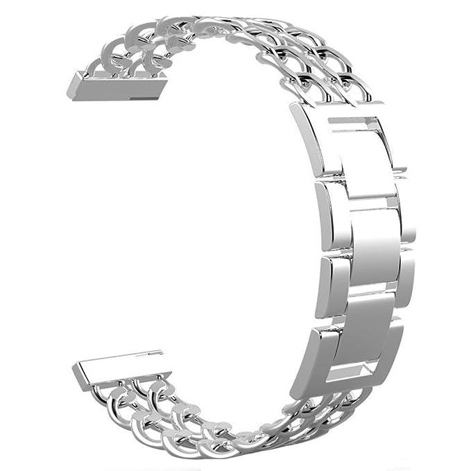 Replacement 22mm Premium Stainless Steel FLEX Watch Straps Wrist ...